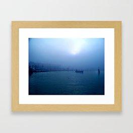 Feel the Blue's Framed Art Print
