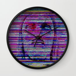 Aquarela Wall Clock