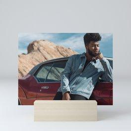 Khalid concert 2019 del1 Mini Art Print