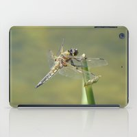 dragonfly iPad Cases featuring Dragonfly  by Factory23