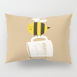 Need. Coffee. Now. Pillow Sham