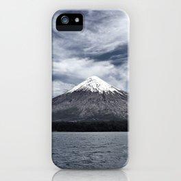 Volcano Osorno iPhone Case