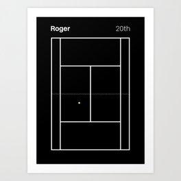 Roger. 20th Art Print