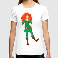 merida T-shirts featuring Merida by Eva Duplan Illustrations
