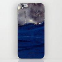 storm iPhone & iPod Skins featuring storm by agnes Trachet