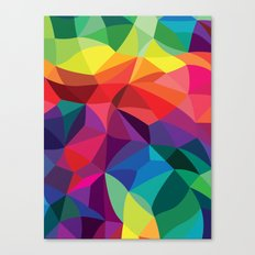 Color Shards Canvas Print