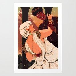 The Dumpling Princess - THE WEDDING Art Print