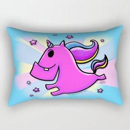 Fab-yoo-lous Unicorn! Rectangular Pillow
