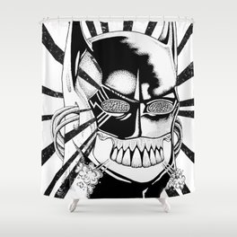 BAT_MAN Shower Curtain