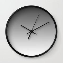Gray Light Ombre Wall Clock