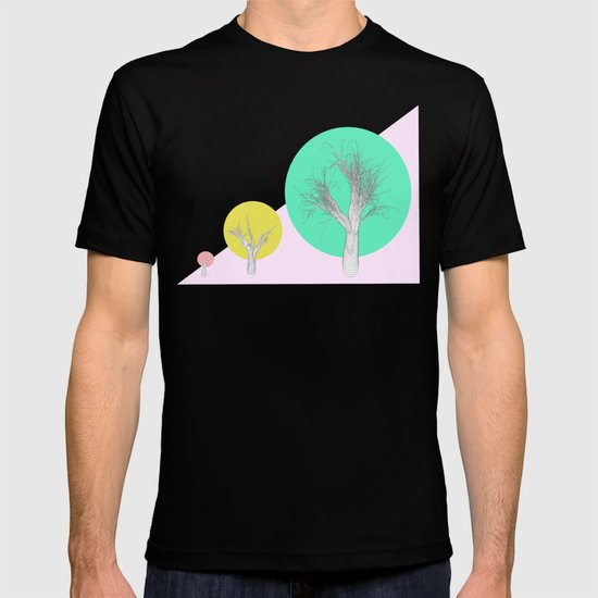 In my world forests are geometric T-shirt