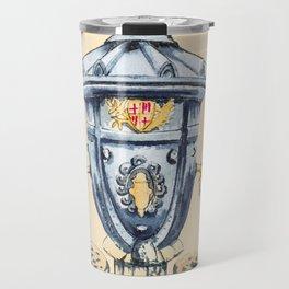 symbol in Barcelona monument Travel Mug