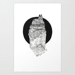 Crystal City Art Print