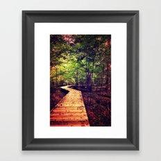 Don't Stop Walking Framed Art Print