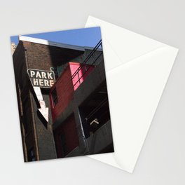 park here Stationery Cards