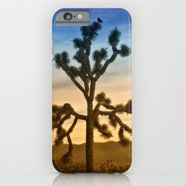 JOSHUA TREE - CALIFORNIA iPhone Case