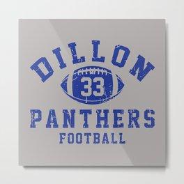 dillon panthers football #33 Metal Print