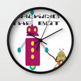 Walking the Bot Wall Clock