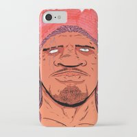 kate bishop iPhone & iPod Cases featuring Bishop by Davel F. Hamue