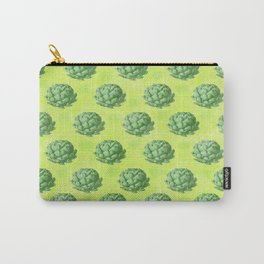 Artichoke pattern Carry-All Pouch