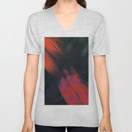 Abstract Printing 1 Unisex V-Neck