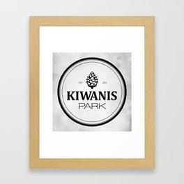 Kiwanis Park Framed Art Print