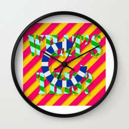 WHAT'S THIS 01 Wall Clock