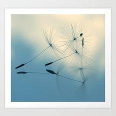 dandelion - cloud nine Art Print
