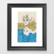 Earth Water and Wind! Framed Art Print