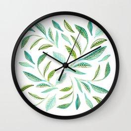 Fresh and Green Wall Clock
