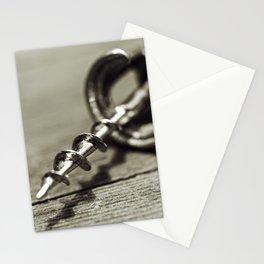 Corkscrew 1 Stationery Cards