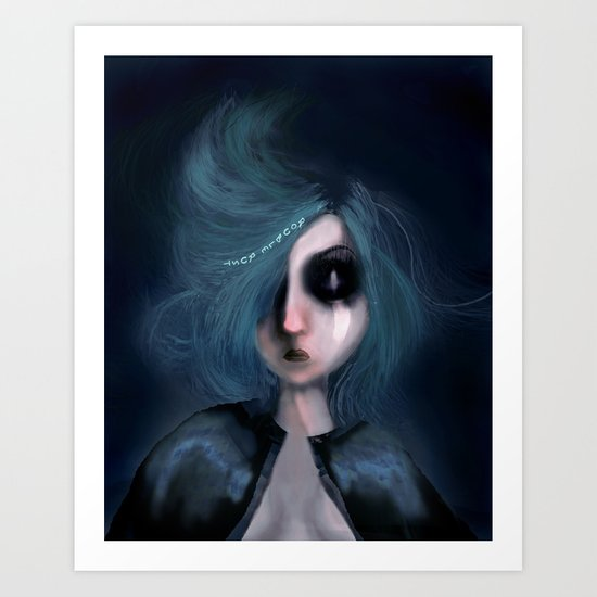 Chronophobia Art Print