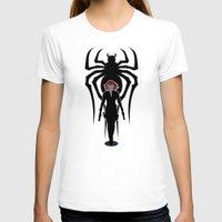 black widow T-shirts featuring Black Widow by Williams Davinchi