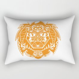 Georges the lion Rectangular Pillow