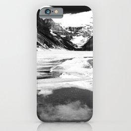 Lake Louise Victoria Glacier Alberta Canada iPhone Case