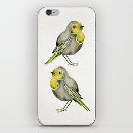 Little Yellow Birds iPhone Skin