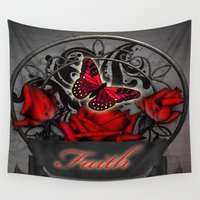 faith Wall Tapestries featuring Faith by The Victorian Fantasy