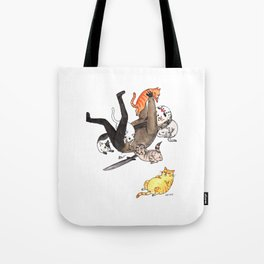 Friday the Purrteenth Tote Bag