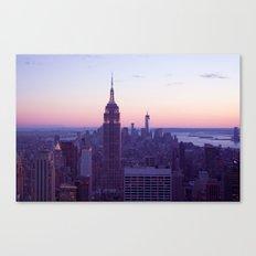Top of the Rock - New York Skyline Canvas Print