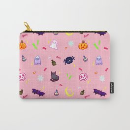 SPOOKY (IN MILLENNIAL PINK) Carry-All Pouch