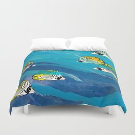 Extraordinary Perception Duvet Cover