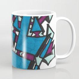 Electric Noise Street Art Style Abstract Coffee Mug