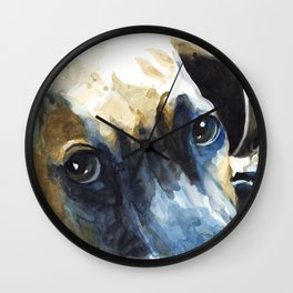 Dogface Wall Clock
