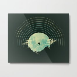 Soundtrack to a Peaceful Night Metal Print