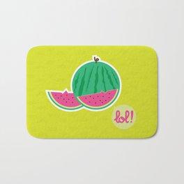 Watermelon - CosmoLOL!icious Bath Mat