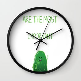 The most important things Wall Clock