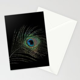 peacock feather - 154 Stationery Cards