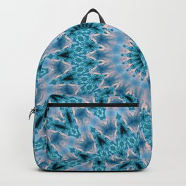 Blue mandala 3 Backpack