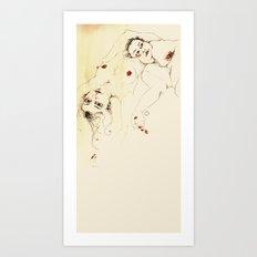desnudas Art Print