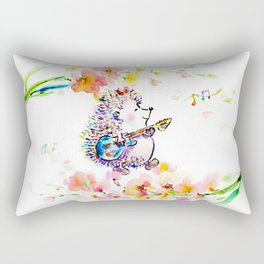 Creating My Own Life Music Rectangular Pillow